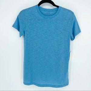 Vince Short Sleeve Tee Shirt Blue